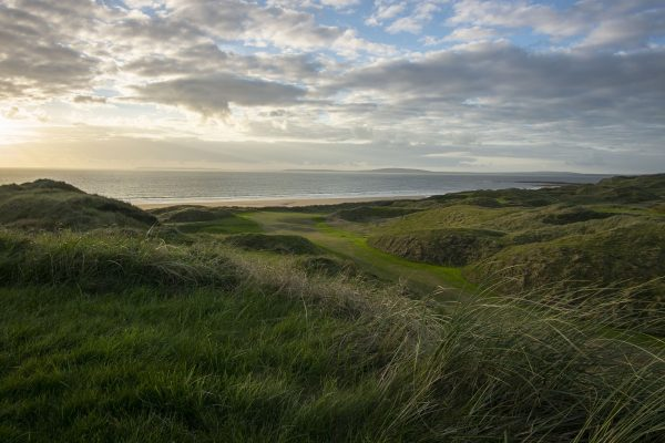 View From CTH Bench Old Course Ballybunion